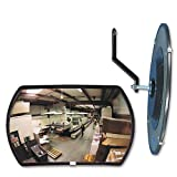 160 degree Convex Security Mirror, 18w x 12'''' h, Sold as 1 Each