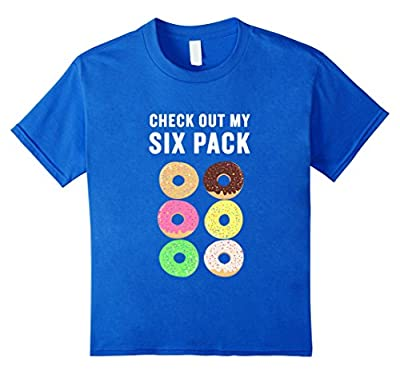 Check Out My Six Pack Donut T-Shirt Funny Desert Abs Pun
