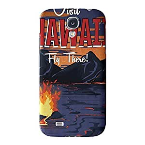 Hawaii Full Wrap High Quality 3D Printed Case for Samsung? Galaxy S4 by Nick Greenaway + FREE Crystal Clear Screen Protector