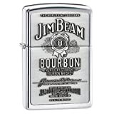 Gifts Infinity® Personalized Jim Beam Pewter Emblem Chrome ZIPPO LIGHTER - Free Engraving