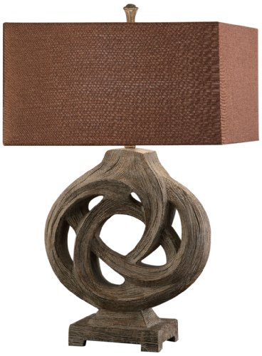 Crestview CVAUP687 Coiled Branch Table Lamp by Crestview