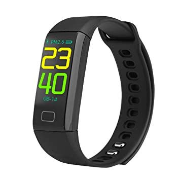 Bluetooth Smart Watch Bracelet, 0.96in TFT Colorful Bluetooth 4.0 ...
