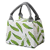 KFSO Lunch Bag Clearance Sale! Square Lunch Bag Waterproof Tote Bag Lunch Organizer Lunch Holder Insulated Lunch Cooler Bag for Women/Wen (C)