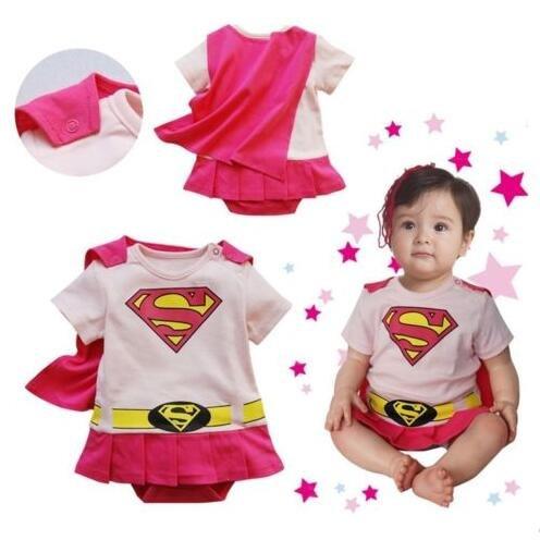 3 Girl Costume Vestito Mesi Super Ramper 18 Bambina AXvqFUwxw