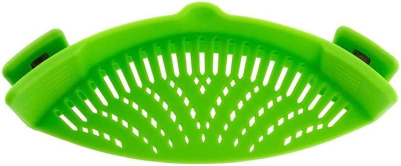 Excellent Houseware Plastic Pan Pasta Vegetable Strainer Flexible Strain Large