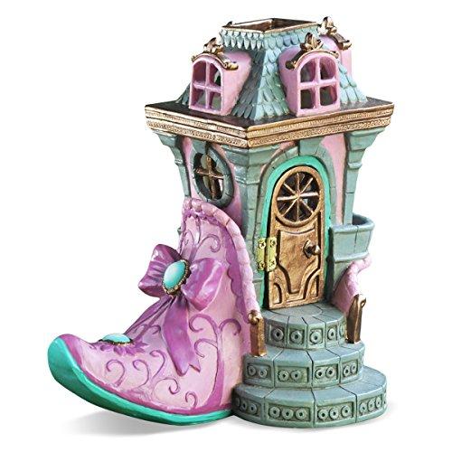 Georgetown Home & Garden Miniature Pink Slipper Chateau Fair House Garden Decor