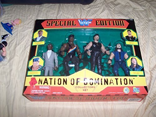 WWF Special Edition Action Figure 4-Pack ''Nation Of Domination'' Collectors Set by USA