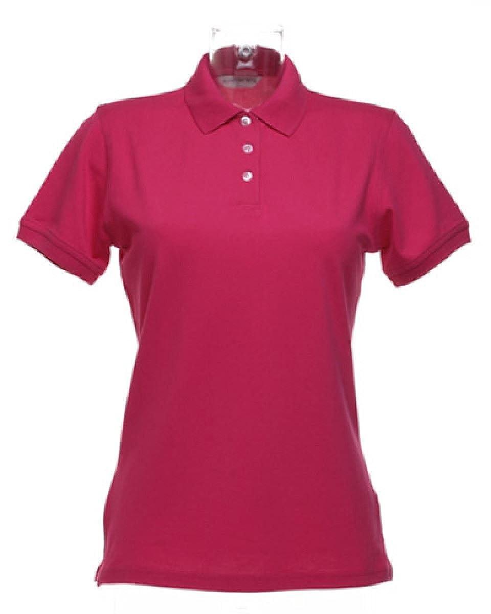 Kustom Kit-Poloshirts-Tops-Womens Kate Comfortec polo Shirt