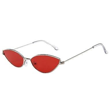 Worsworthy Gafas de sol ovaladas de ojo de gato de caja ...