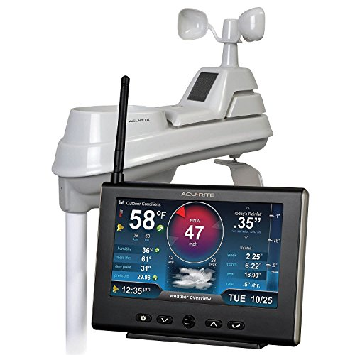 AcuRite Pro Weather Station with 5-in-1 Sensor, HD Display and My AcuRite Remote Monitoring