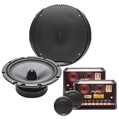 "Skar Audio TX65C 6.5"" 2-Way Elite Component Speaker System - Set of 2"