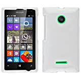 Zizo Carrying Case for Nokia Lumia 435 - Retail Packaging - Clear Transparent