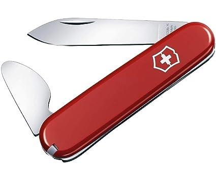 Victorinox Uhrenöffner (4 Funktionen, Grosse Klinge, Zahnstocher) rot
