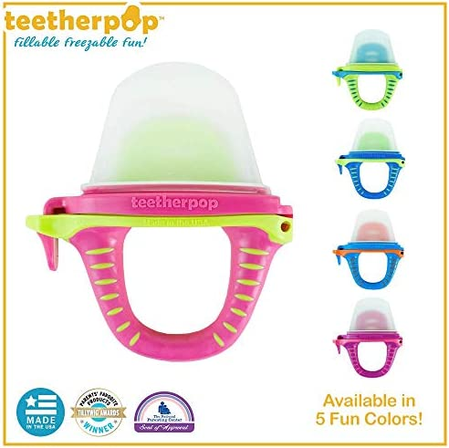 teetherpop Fillable Freezable Popsicles Smoothies product image