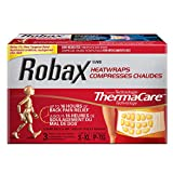 Robax Lower Back & Hip HeatWraps (3 count), S-XL, Non-medicated Pain Relief for Back and Muscle Pain