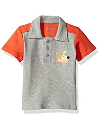 Zutano baby-boys Baby Color Blocked Polo Shirt