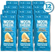 Moon Cheese Oh My Gouda, 100% Gouda Cheese Snacks, Crunchy Keto Food, Low Carb, High Protein, 1oz.(12 Pack)