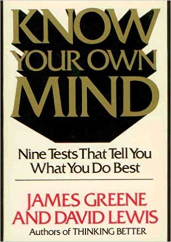 Book Know Your Own Mind by James Greene (1984-08-01)