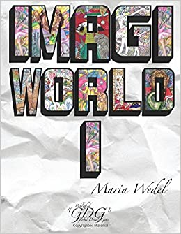 Book ImagiWorld 1: Adult Coloring Book Imaginary World: Volume 1