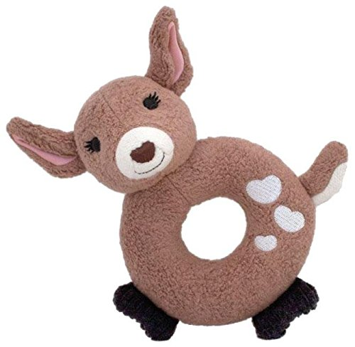 Apple Park Soft Teething Toy - Little Fawn (Fawn Apparel)