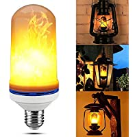 JOLIFILE LED Flame Bulb,Dynamic Fire Effect Light E27/E26...