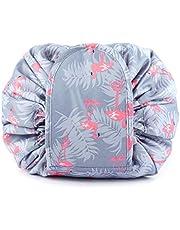 Duwee Multifunction Travel Makeup Bag Waterproof Cosmetic Organizer Drawstring Makeup Storage Bag Women Girls Portable Toiletry Bags