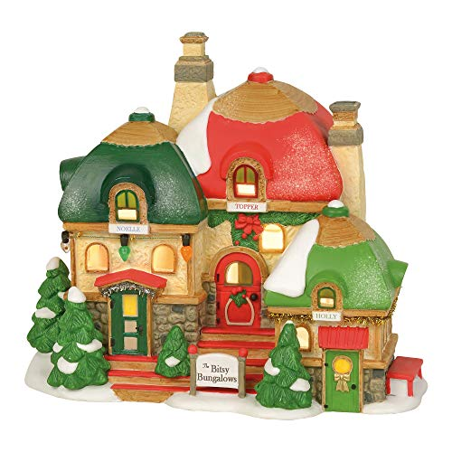 Department 56 North Pole Series The Bitsy Bungalows