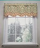 Cheap Waverly Traditions By Classic Damask Donnington Valance 52″ w X 16″ L Clay/Multi Color