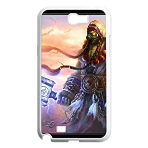 Samsung Galaxy Note 2 White phone case World of Warcraft Thrall WOW8641795