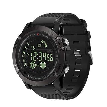 Zeblaze Vibe3 Smartwatch, Domybest Smart Watch Bluetooth Smart Bracelet, para iOS y Android Reloj Inteligente, Podómetro para Deportes y Aire Libre ...