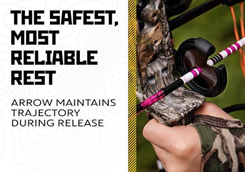 Trophy Ridge Sure Shot Pro Whisker Biscuit Arrow Rest Black Medium Right hand
