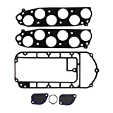 upper intake plenum - Fel-Pro MS 96410-1 Upper Intake/Plenum Gasket Set