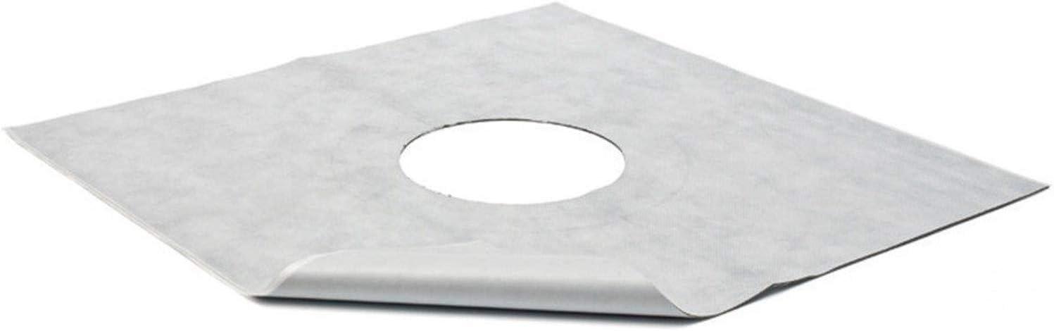 Dichtungsfolie Hydroisolationsfolie klebend f Boden Duschabl/äufe 50x50cm 391//3