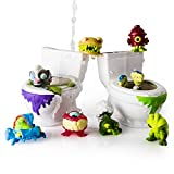 Flush Force Series 1 Bizarre Bathroom Collectible, (Color/Styles May Vary), 8-Pack Figures