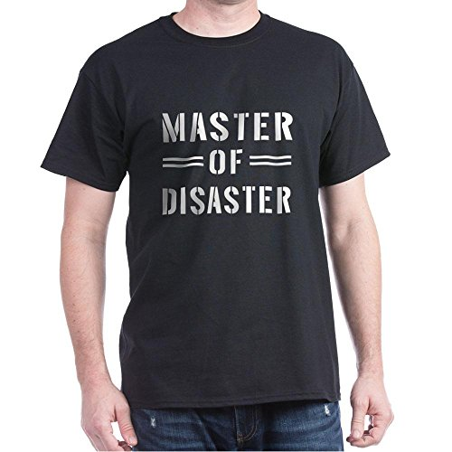 CafePress - Master Of Disaster T-Shirt - 100% Cotton T-Shirt
