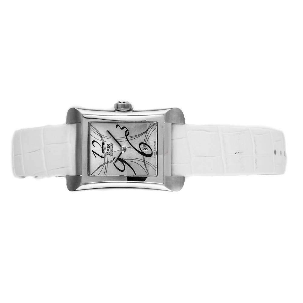 Oris Rectangular automatic-self-wind womens Watch 01 561 7620 4061 (Certified Pre-owned)