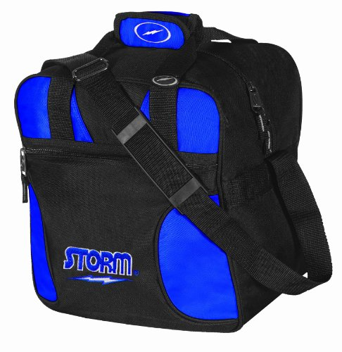 Storm Solo Bowling Bag (1-Ball), Royal (Bag Storm Shoulder)