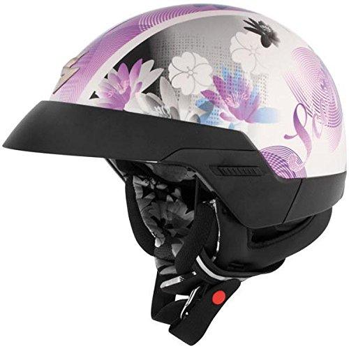 Scorpion EXO-100 Lilly Purple Half Helmet - Large
