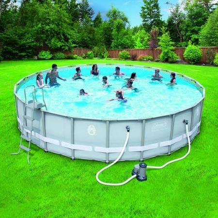 Most popular swimming pools above ground coleman on amazon for Purchase above ground swimming pool