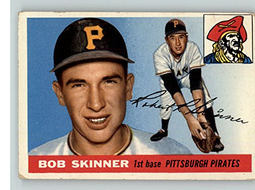 1955 Topps #88 Bob Skinner Pirates EX 312961 Kit Young Cards