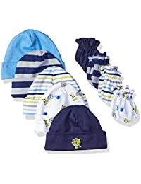 Baby Pack of 5 Caps & 4 Mittens