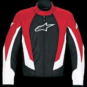 Alpinestars T-RC-1 Air-Flo Textile Jacket , Color: Red, Size: 4XL 330518-30-4XL