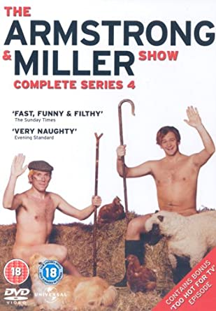 The Armstrong And Miller Show Complete Series 4 DVD
