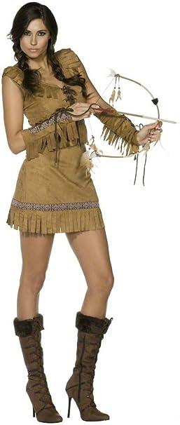Traje de neopreno para mujer Fever Native American Pocahontas Sexy ...