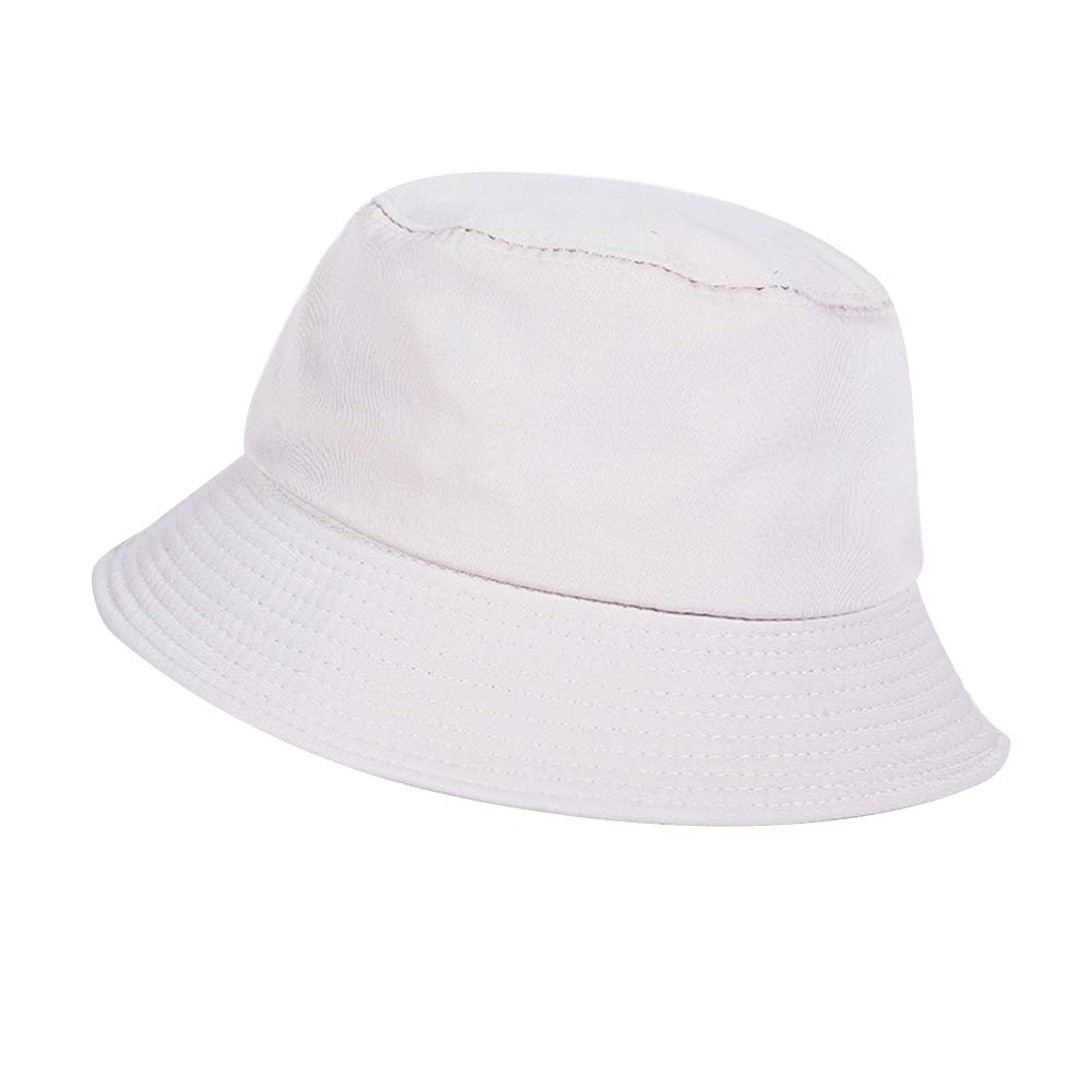 Homyl Men Women Ladies Wide Brim Bucket Hat Summer Beach Fisherman Fishing Sun Hat