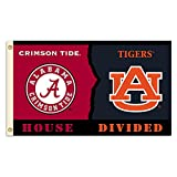 NCAA Alabama vs. Auburn 3 Ft. X 5 Ft. Flag with Grommets – Rivalry House Divided Review