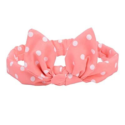 Vintage Baby Printing Hair Band Floral Rabbit Ears Children Daily Headband