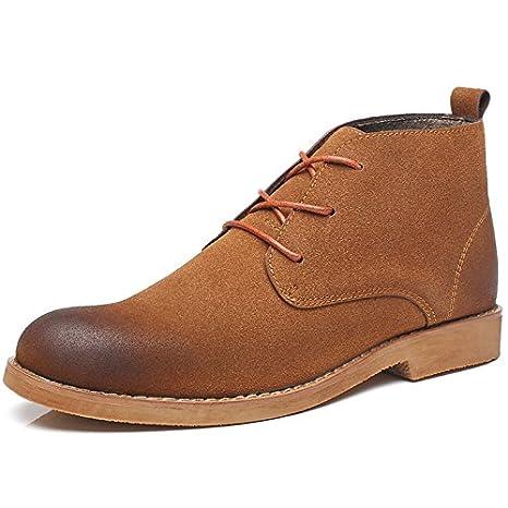 Hombres de la moda casual botas Chelsea botas hombres Ingles ...