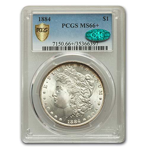 1884 Morgan Dollar MS-66+ PCGS CAC $1 MS-66 PCGS
