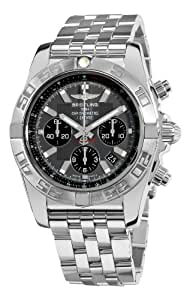 Breitling Men's AB011011/F546 Chronomat B01 Grey Chronograph Dial Watch